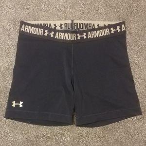 "Under Armour heat gear 5"" mid shorts"